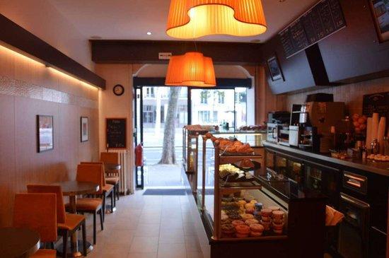 La Mie Cale : Cafe View: Back