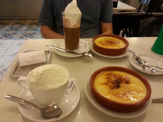 Cafe Granja Viader: La nostra colazione