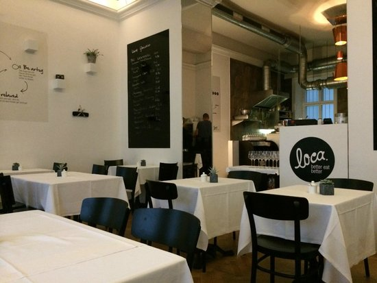 Loca: Stylish restaurant