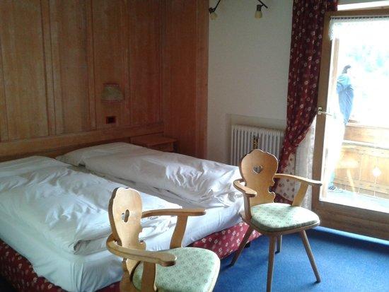 Hotel Cime Bianche : Camera