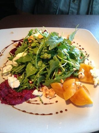 Root Down: beet salad