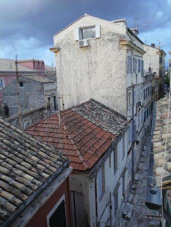 Cavalieri Hotel Corfu: Below our room