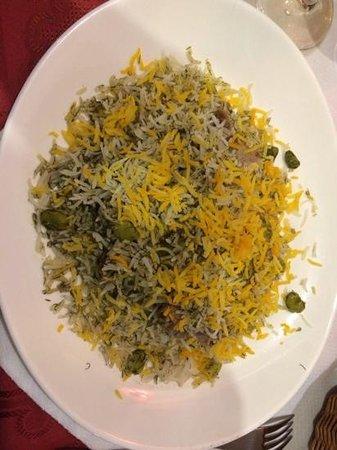 Nuevo Espacio: arroz con habas eneldo y cordero