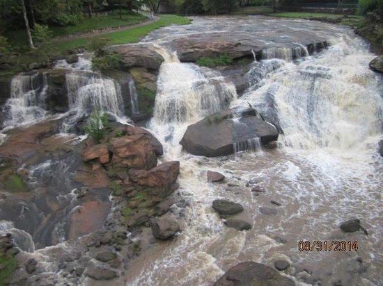 Falls Park on the Reedy : Greenville, SC