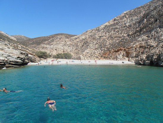 Panorama - Picture of Livadaki Beach, Folegandros ...