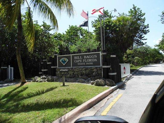 Bill Baggs Cape Florida State Park: Bill Baggs Entrance