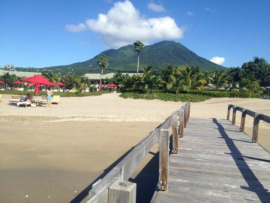 Four Seasons Resort Nevis, West Indies: Volcano backdrop