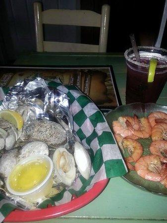 Duffy Street Seafood Shack : food
