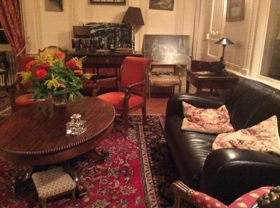Chateau du Plessis Anjou : sitting room