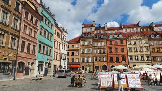 Warsaw Hotels Near Old Town