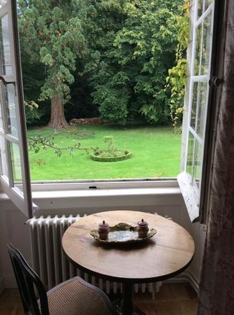 Chateau du Plessis Anjou : Room with a view