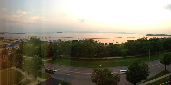 Hilton Burlington: room view - picture doesn't do justice