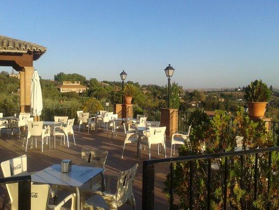 Hotel Abaceria: terraza