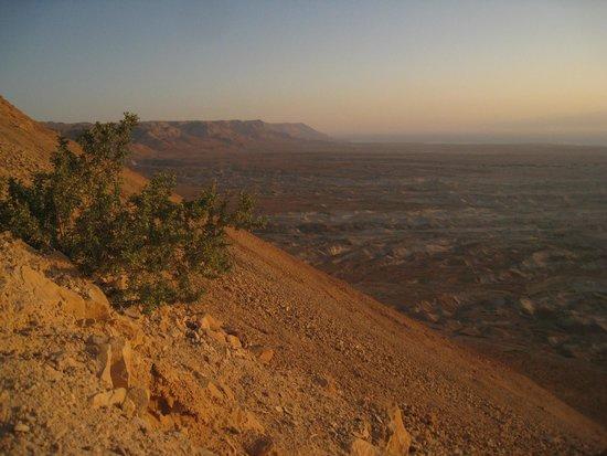 Massada Guest House: Вид с горы Массада