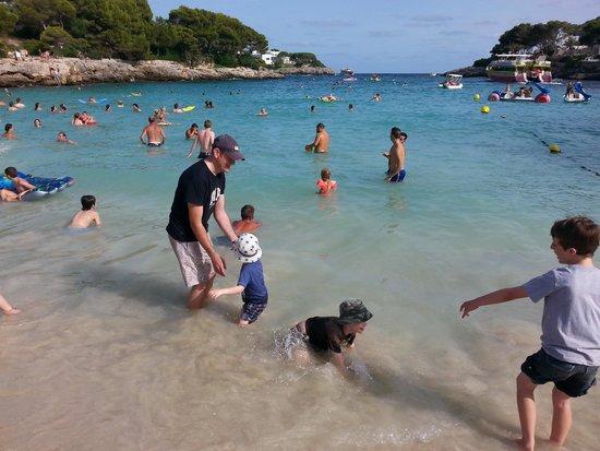 Club Calimera Es Talaial: Cala Egos beach