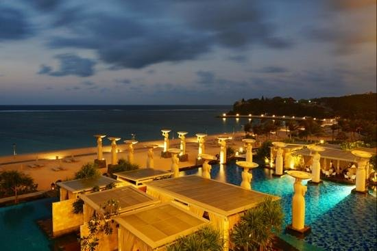 The Mulia: Ocean view from our Baron Suite balcony
