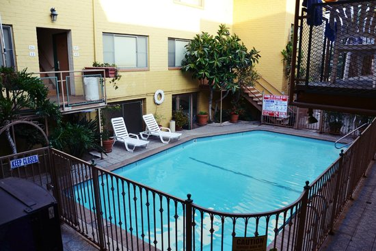 Hollywood Downtowner Inn : Piscine