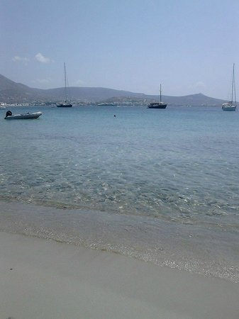 Paros Agnanti Resort : παραλια Μαρτσελο!