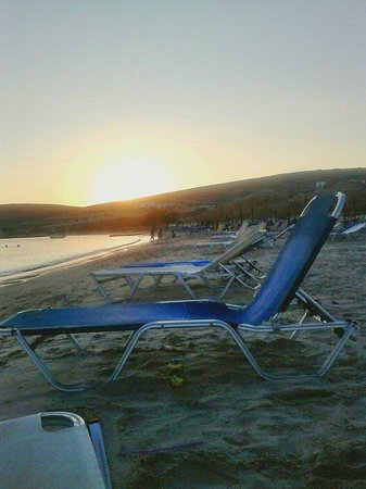 Paros Agnanti Resort : η παραλια!