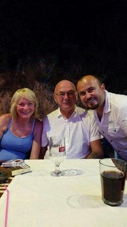 Inci Restaurant: At charla's lovely restaurant inci!