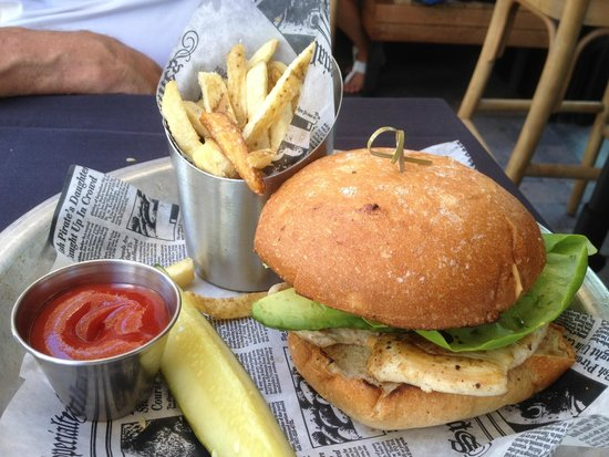 The Patio On Goldfinch: Grilled Chicken Sandwich