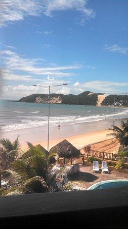 Visual Praia Hotel: vista do morro do careca em quarto lateral