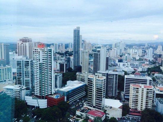 Hotel Riu Plaza Panama: VISTA DESDE LA HABITACION