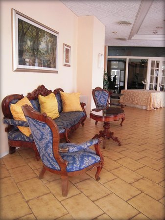 Hotel Scapolatiello: Sala interna
