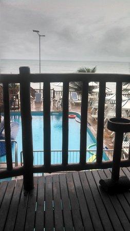 Visual Praia Hotel: vista do quarto de frente