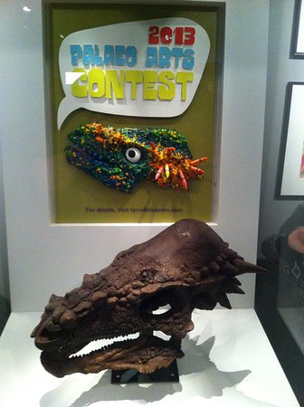 Royal Tyrrell Museum of Palaeontology : An example of art submitted for their art contest
