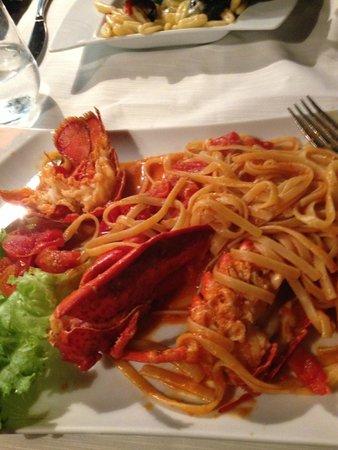 Nerino Dieci Trattoria : Lobster Linguine