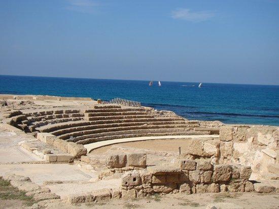 Theatre at Caesarea National Park: Roman amphitheater