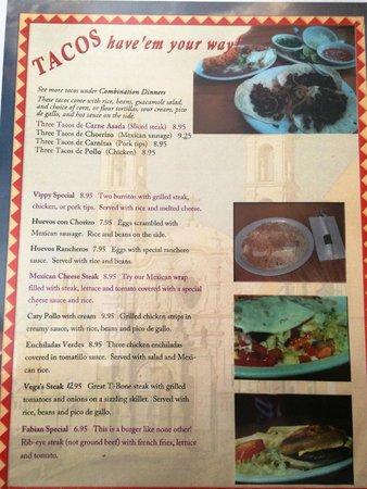 Algood, TN : Menu Page 03