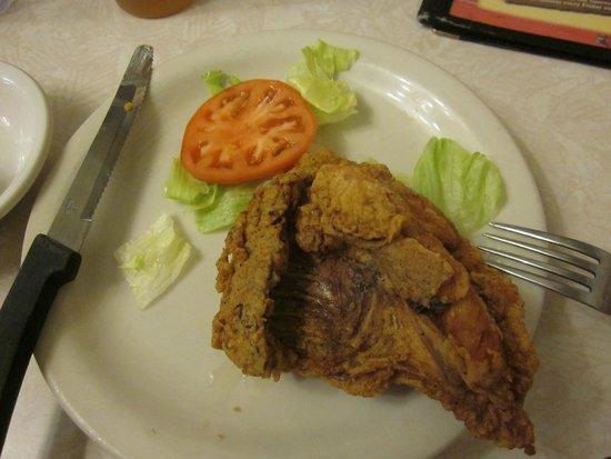 7-11 Ranch Restaurant: Tasty, but not much for presentation.