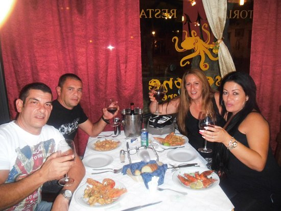 B&B Belveliero: poseidon restaurant