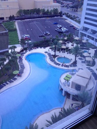 Hard Rock Hotel & Casino Biloxi: Our view from room 919