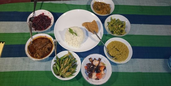 Sundaras Resort : рис и кари