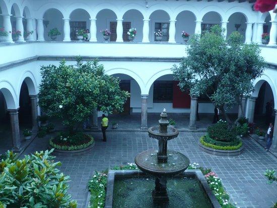 Patio interno Palacio de Gobierno