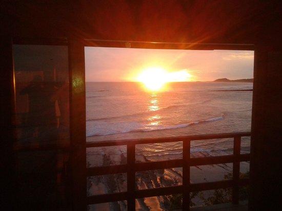 Magnific Rock Hotel: Beautifull sunset