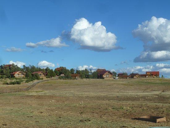 Zion Mountain Ranch : Blick auf Ranch und Häuser