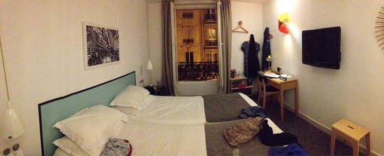 Hotel Palm - Astotel : Panoramic view of our room 305