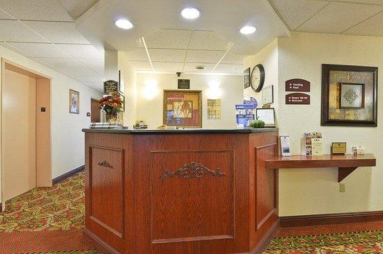 Milroy, PA: Hotel Reception