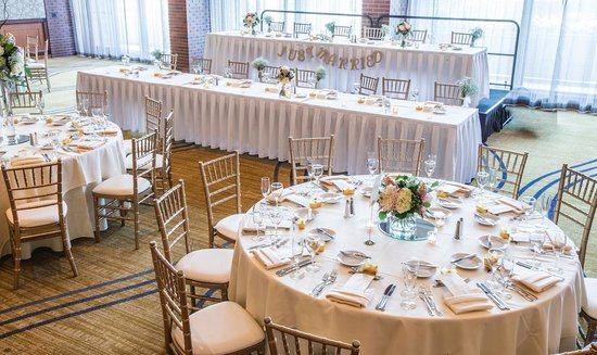 The Hyatt Lodge at McDonald's Campus : Check out our gorgeous wedding set ups.