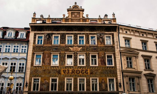 The Hotel From The Square Picture Of Rott Hotel Prague