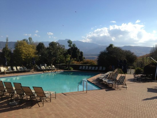 Champagne Sports Resort: one of the swimming pools at resort