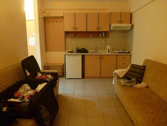 Amphi Apartments & Studios: Living room area room 302
