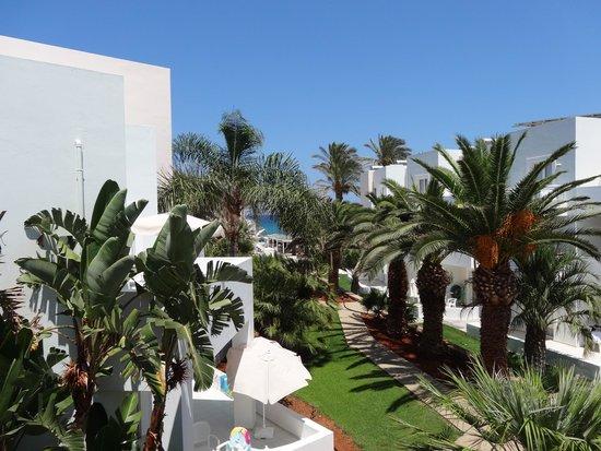 Akrogiali Beach Hotel: balkon view