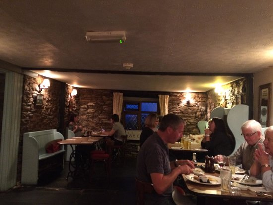 The Plough: One of the three dining rooms
