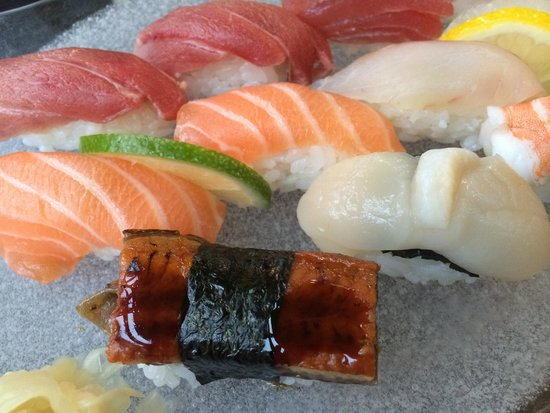 Zen: Assortiment de sushis