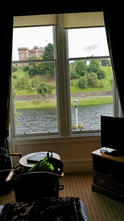 BEST WESTERN Inverness Palace Hotel & Spa: The view from our room
